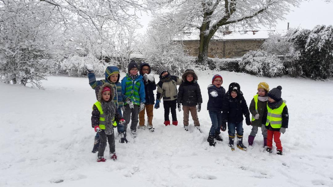 Bataille de boules de neige